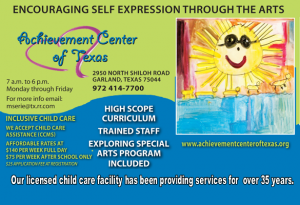 Information about inclusive childcare at Achievement Center of Texas