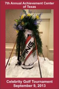 2013 Golf Tournament Setup