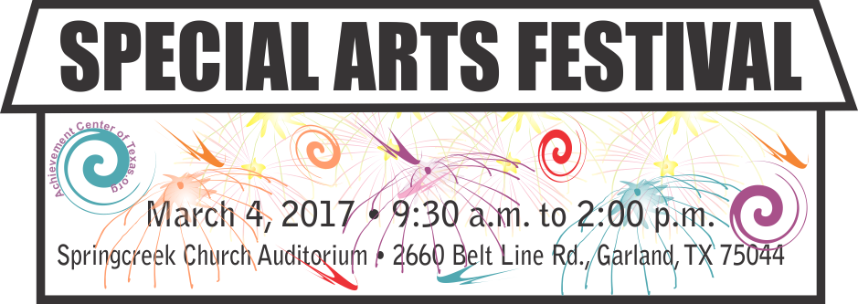 Join us for the Special Arts Festiva.