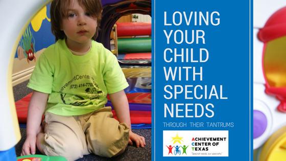 special needs tantrums