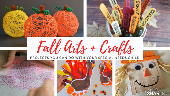 Fall Arts + Crafts: Projects You Can Do with Your Special Needs Child