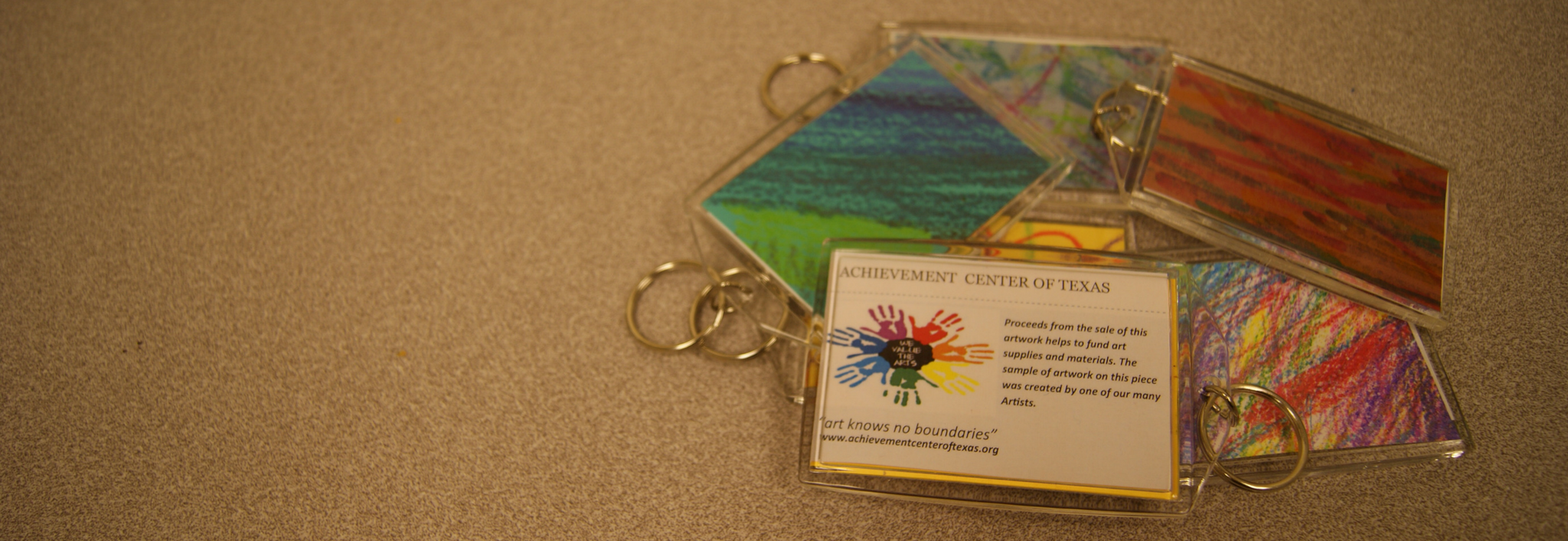 Buy a Student Art Keychain