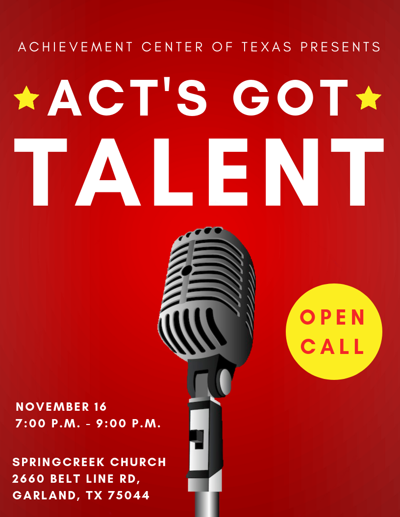 Special Needs Talent Show