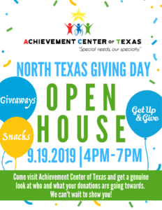 North Texas Giving Day Open House